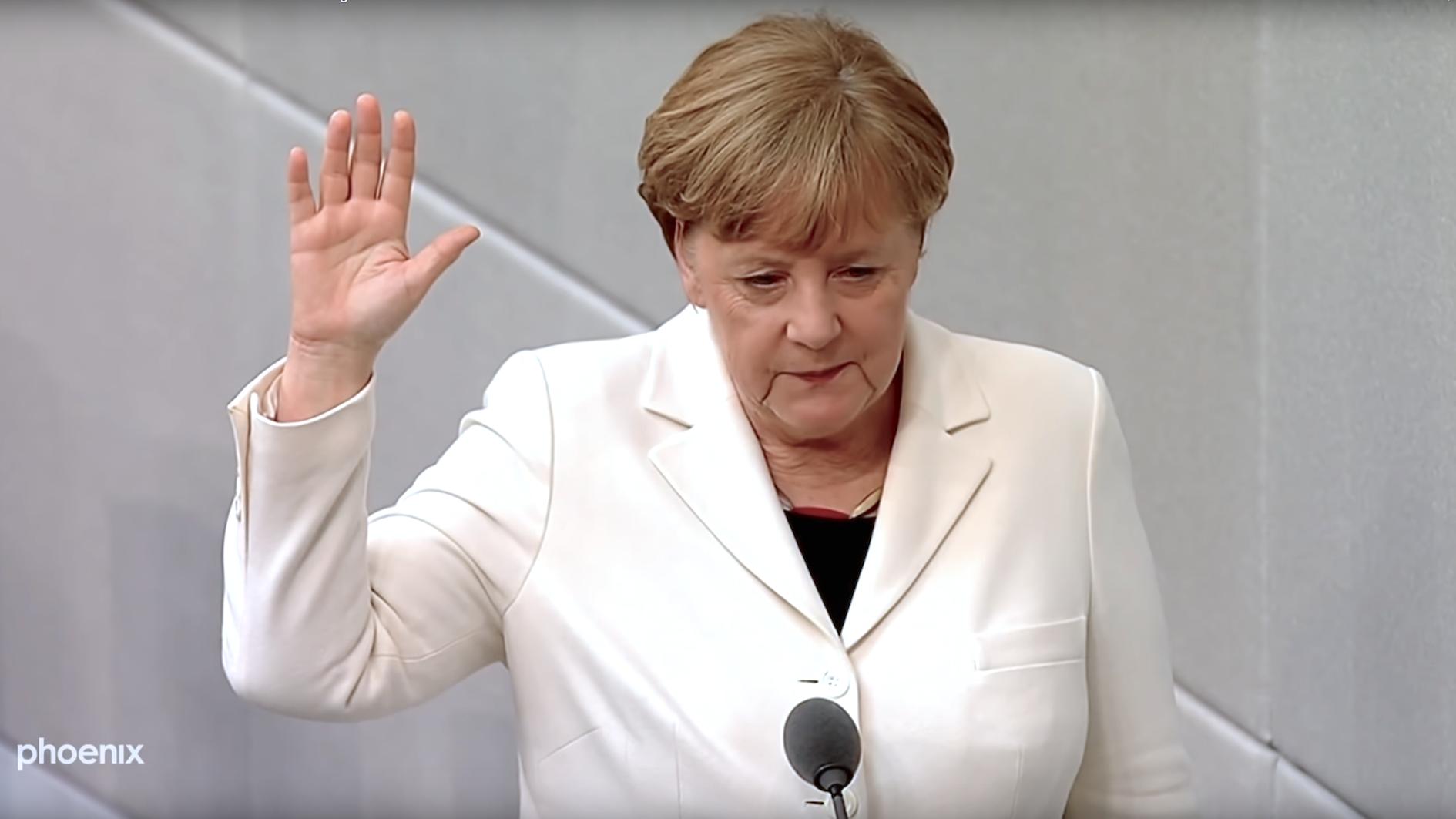 Das Hohe Haus Angela Merkel
