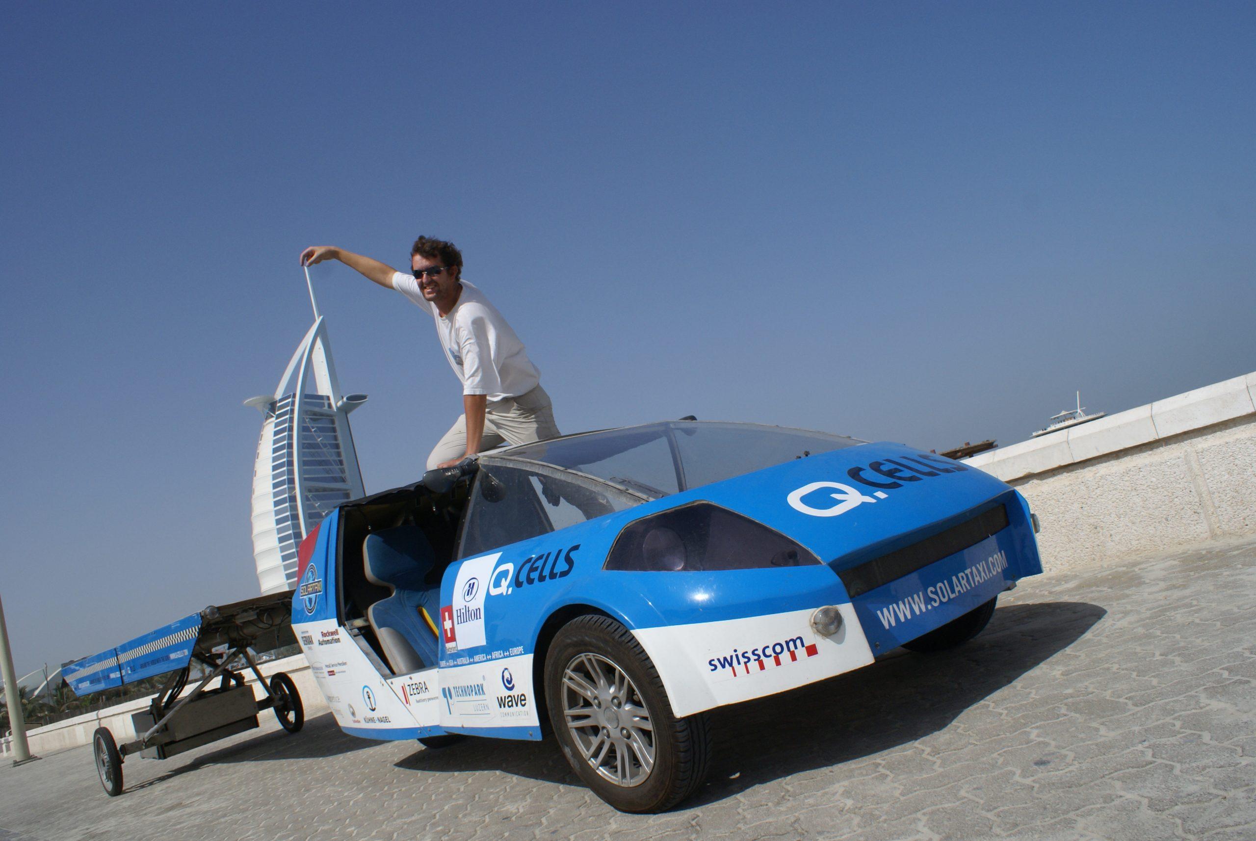 Solartaxi Dubai